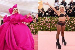 Met Gala 2019: Lady Gaga 'chơi trội', cởi đồ ngay giữa thảm đỏ