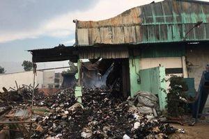 Sở GTVT TP.HCM lên tiếng vụ cháy kho lưu trữ tài liệu xe buýt