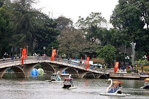 Hơn 1.700 tỷ đồng xây bãi xe ngầm trong công viên Thủ Lệ