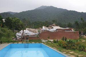 Rừng Sóc Sơn bị băm nát: Nhiều biệt thự hoành tráng bắt đầu bị đập bỏ