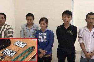TP.HCM: Bắt băng nhóm chuyên đột nhập nhà dân trộm tài sản