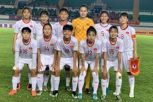 U19 nữ Việt Nam thua đậm U19 nữ Trung Quốc