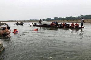 Tìm thấy thi thể 4 học sinh chết đuối trên sông Mã, Thanh Hóa