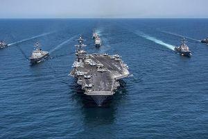 Mỹ điều tàu sân bay đến Trung Đông răn đe Iran: 'Cú lừa trăm nghìn tấn'?