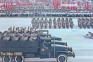 Lễ duyệt binh đầu tiên sau chiến thắng Điện Biên Phủ