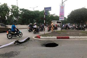 Đã xác định được nguyên nhân gây ra hố 'tử thần' trên phố Trần Đại Nghĩa
