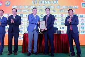 Bóng đá Việt Nam lần đầu tiên trong lịch sử có tài trợ 'chất'!