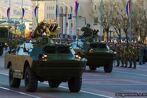 Đượm buồn dàn vũ khí duyệt binh ở 'cực nam' nước Nga