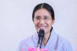 Phật tử chùa Ba Vàng Phạm Thị Yến tiếp tục đăng đàn thuyết giảng