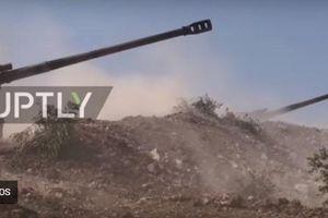 Quân đội Syria ào ạt tấn công quân thánh chiến ở Hama
