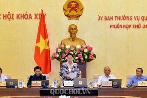 Ủy ban Thường vụ Quốc hội đề nghị Chính phủ làm rõ về giải pháp quản lý xã hội