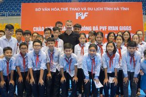 Cựu danh thủ M.U Ryan Giggs đến Nghệ An và Hà Tĩnh