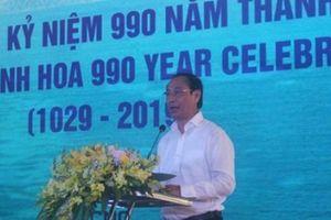 Thanh Hóa: Khai trương tuyến dịch vụ vận tải container quốc tế