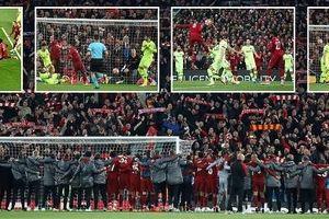 Địa chấn tại Anfield, Barcelona rơi xuống địa ngục