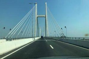 Cầu Vàm Cống sẽ được khánh thành vào cuối tháng 5