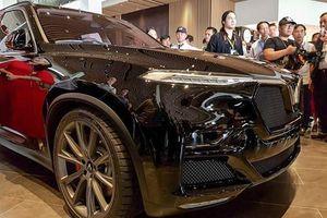VinFast đưa mẫu SUV Lux phiên bản đặc biệt về Việt Nam