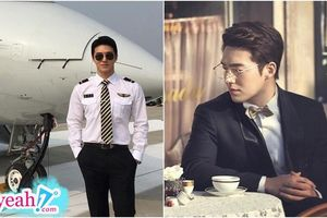 Danh tính anh chàng phi công Hàn Quốc 'gây sốt': Tốt nghiệp Đại học danh tiếng Anh Quốc, thân hình chuẩn sáu múi và thần thái 'vạn người mê'