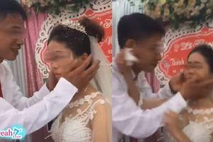 Vụ cô dâu có gương mặt 'bánh bao hấp' tại đám cưới : Nguyên nhân do chú rể đi nhà nghỉ với người yêu cũ ?