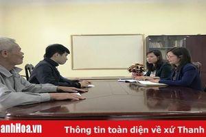 Tăng cường trách nhiệm của người đứng đầu đơn vị trong công tác tiếp công dân