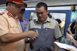 Vi phạm nồng độ cồn, nhân viên đường sắt, lái tàu bị xử phạt thế nào?