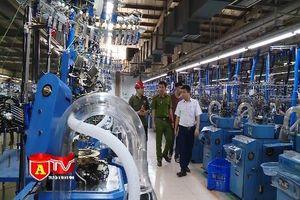 Thiếu an toàn PCCC tại cơ sở dệt may thuộc cụm Công nghiệp Thanh Oai