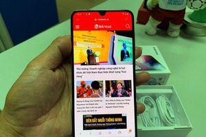 Mở hộp Galaxy A70: Smartphone có màn hình lớn nhất dòng A của Samsung