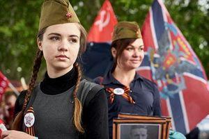 Hình ảnh chiến sĩ Hồng quân Liên Xô 'sống lại' qua Binh đoàn Bất tử