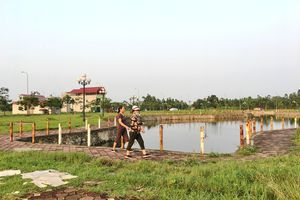 Nơm nớp sống trong khu tái định cư Sóc Sơn
