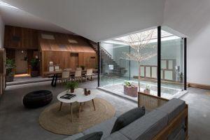 Cách thiết kế giếng trời đón tối đa ánh sáng cho ngôi nhà