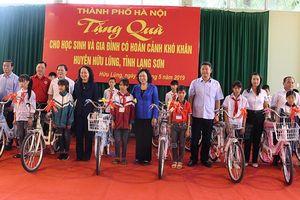Hà Nội hỗ trợ huyện Hữu Lũng 20 tỷ đồng xây dựng nhà văn hóa