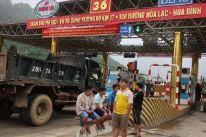 Bộ GTVT đề nghị xử nghiêm các đối tượng gây rối ở BOT Hòa Lạc-Hòa Bình
