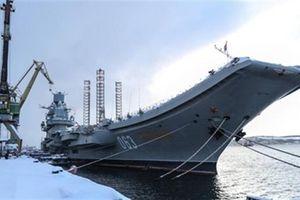 Chặng đường gian nan khi Nga quyết cho tàu Kuznetsov sống lại