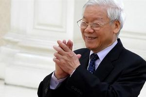 Tổng Bí thư Nguyễn Phú Trọng gửi điện mừng ông Zelensky