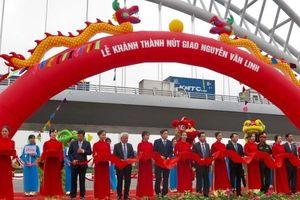 Hải Phòng đưa cầu vượt nút giao đường Nguyễn Văn Linh vào hoạt động