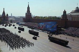 Chùm ảnh 13.000 binh sĩ Nga duyệt binh hoành tráng kỷ niệm Ngày Chiến thắng