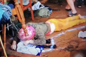 Lấy quần áo khi trời mưa, người phụ nữ bị điện giật tử vong