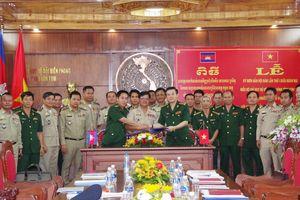 Tăng cường công tác phối hợp giữa BĐBP Kon Tum và Gia Lai, Việt Nam với Ty Công an tỉnh Rattanakiri, Campuchia