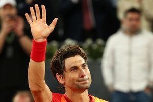 David Ferrer giã từ sự nghiệp tại Madrid