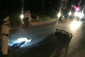 Trung tá CSGT bị tông trọng thương khi đang làm nhiệm vụ