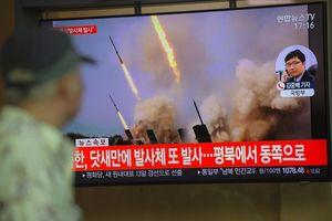 Triều Tiên lại bắn tên lửa