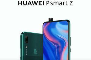 P Smart Z: smartphone camera thò thụt đầu tiên của Huawei ra mắt, giá 313 USD