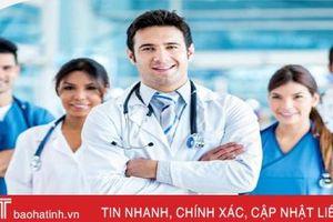 Bệnh viện Đa khoa huyện Đức Thọ tuyển dụng 13 bác sỹ