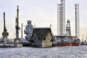 Nga rục rịch triển khai dự án đóng tàu sân bay hạt nhân đầu tiên