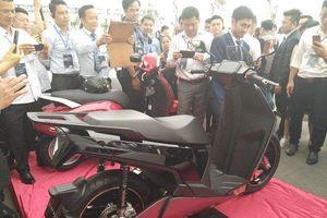 Xe máy điện VinFast V9 bất ngờ xuất hiện, mang thiết kế nam tính