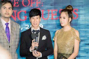 'Mẹ 4 con' Minh Hà mặc váy nữ thần, xinh lung linh khi hộ tống chồng Lý Hải đi Mỹ