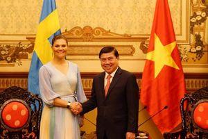 Công chúa Thụy Điển mong muốn hợp tác với TP.HCM về môi trường