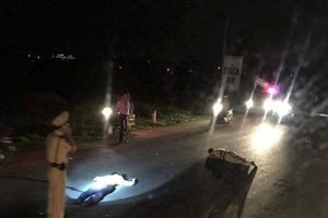 Một chiến sĩ CSGT bị công an viên xã đâm xe trọng thương khi đang làm nhiệm vụ