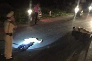 Trung tá CSGT bị xe máy vi phạm tông nguy kịch