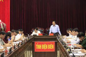Đoàn Tiểu ban Văn kiện Đại hội XIII làm việc với Ban Thường vụ Tỉnh ủy Điện Biên