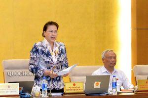 Chủ tịch Quốc hội Nguyễn Thị Kim Ngân: Tránh tình trạng ra Luật này lại xung đột với các Luật khác